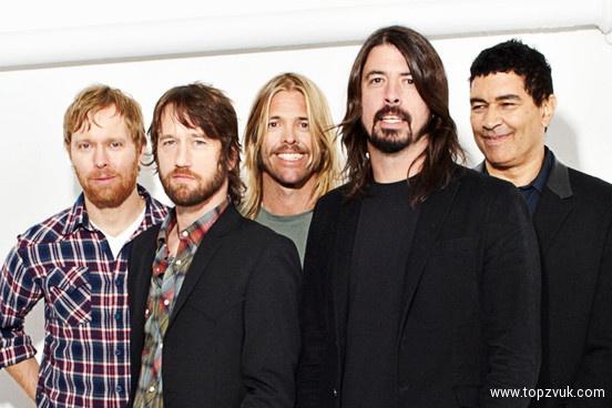 Участники Foo Fighters запишут новый альбом внынешнем году