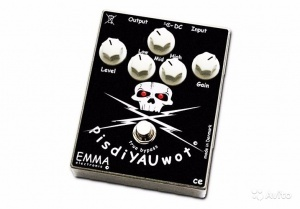 Emma PisdiYAUWot distortion pedal
