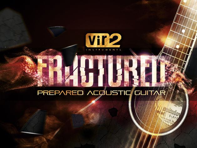 Vir2 Instruments Fractured Prepared Acoustic Guitar