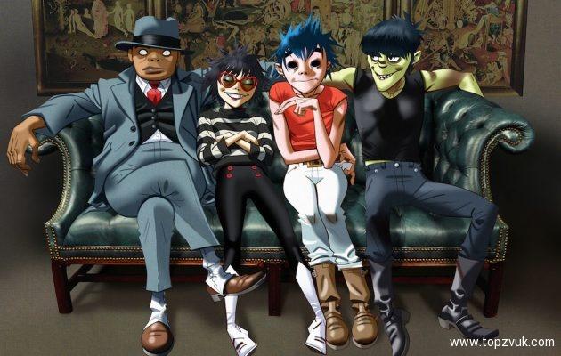 Gorillaz выпустили четыре клипа напесни изгрядущего альбома