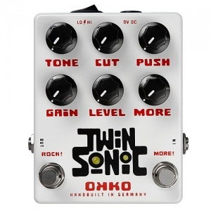 Okko TwinSonic booster/overdrive