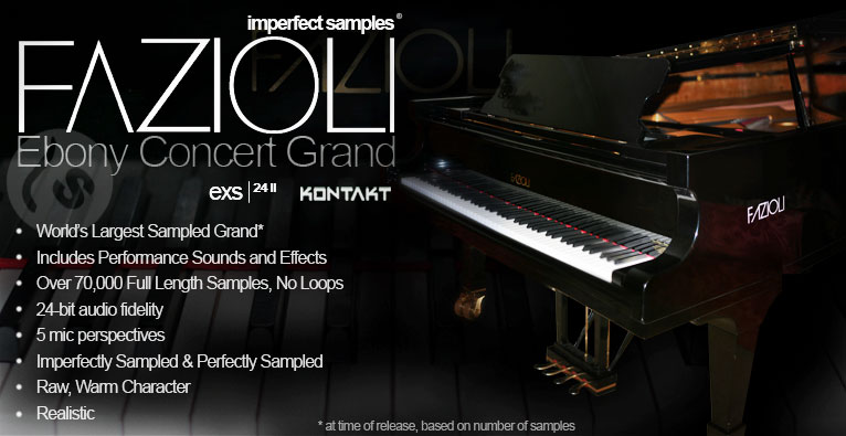 Imperfect Samples Fazioli Concert Grand Sampled Piano