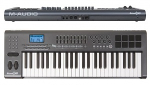 Midi клавиатура M-audio axiom 49 mkii