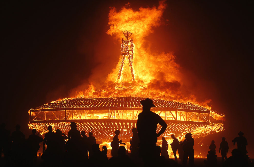 Burning Man 2017 пройдет в Нидерландах